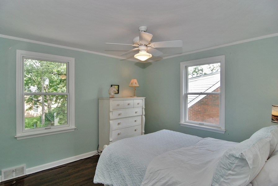 Real Estate Photography - 713 S. Spring Avenue, La Grange, IL, 60525 - 2nd Bedroom
