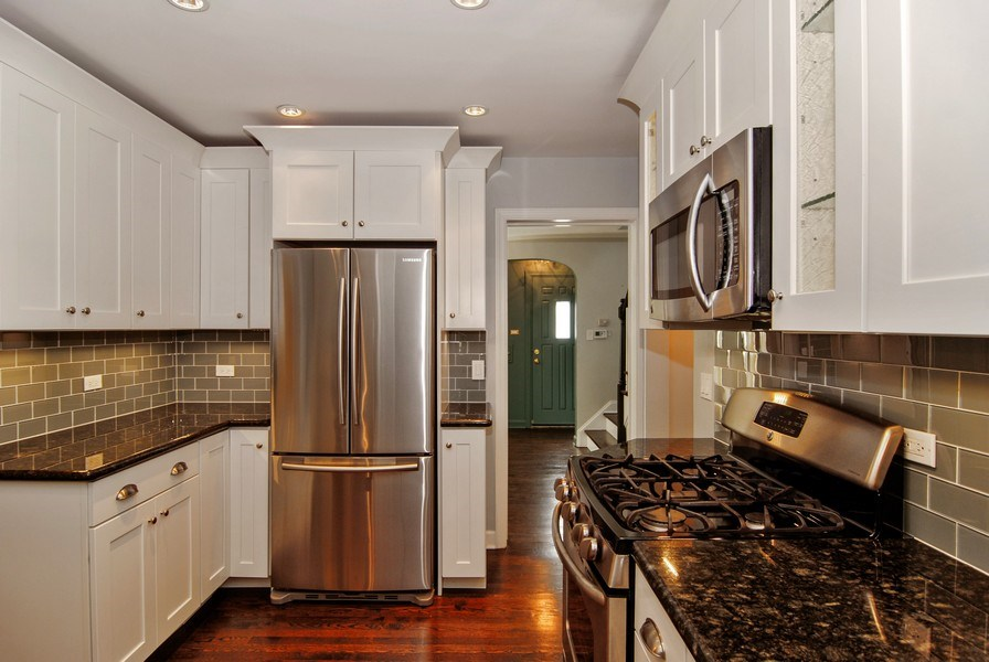 Real Estate Photography - 713 S. Spring Avenue, La Grange, IL, 60525 - Kitchen