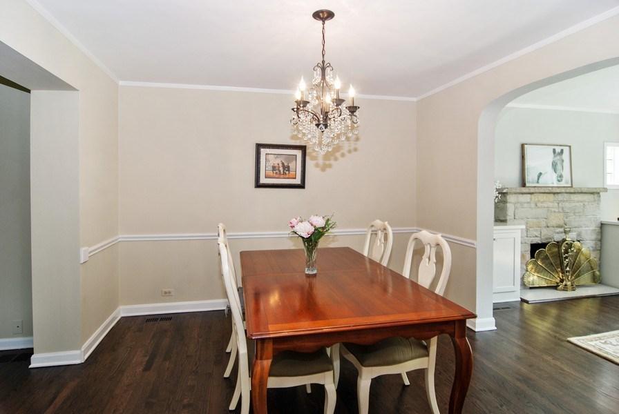 Real Estate Photography - 713 S. Spring Avenue, La Grange, IL, 60525 - Dining Room