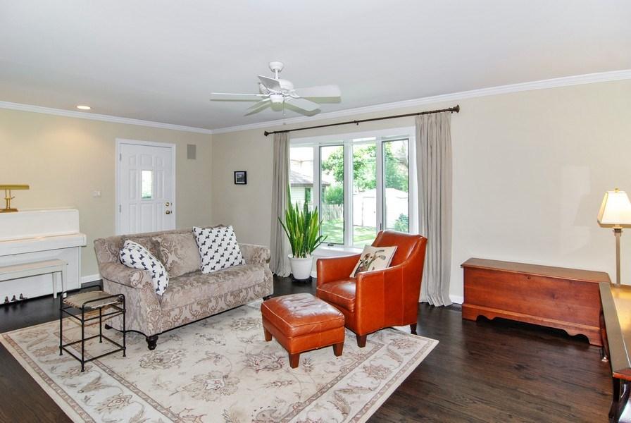 Real Estate Photography - 713 S. Spring Avenue, La Grange, IL, 60525 - Family Room