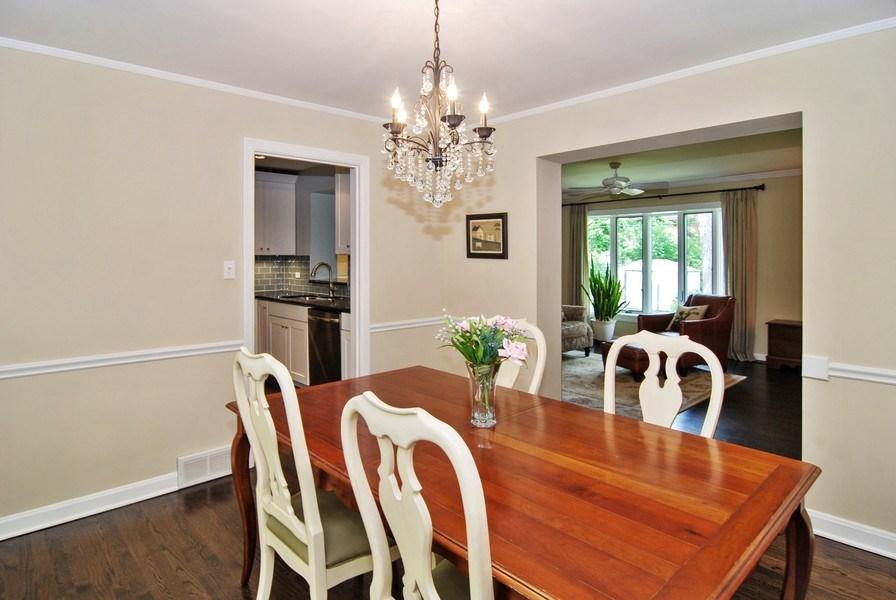 Real Estate Photography - 713 S. Spring Avenue, La Grange, IL, 60525 - Dining Area