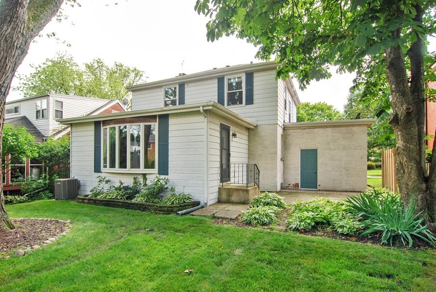 Real Estate Photography - 713 S. Spring Avenue, La Grange, IL, 60525 - Rear View