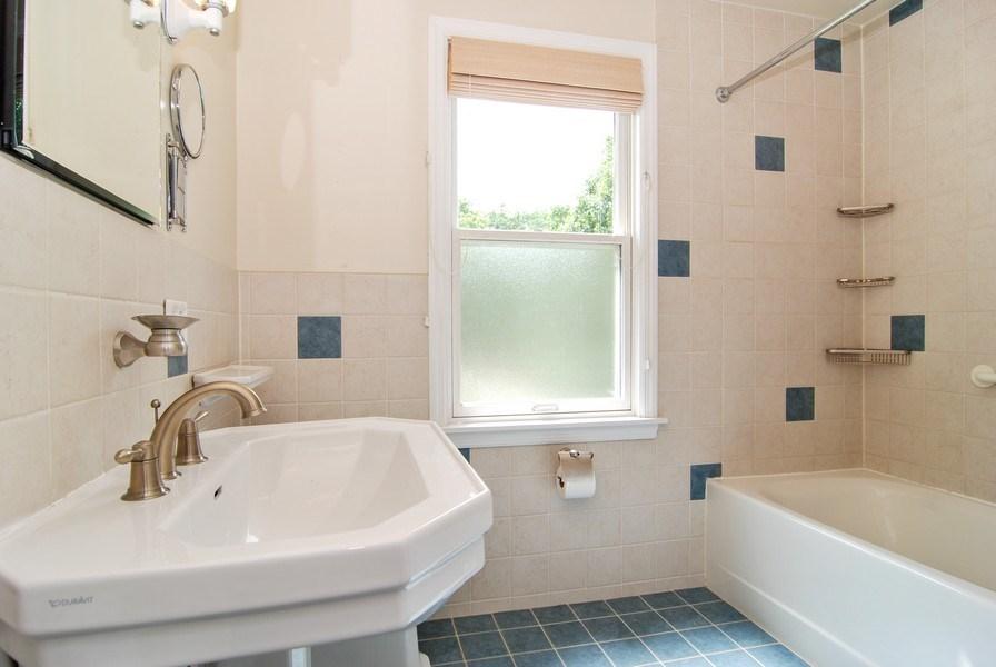 Real Estate Photography - 713 S. Spring Avenue, La Grange, IL, 60525 - Bathroom