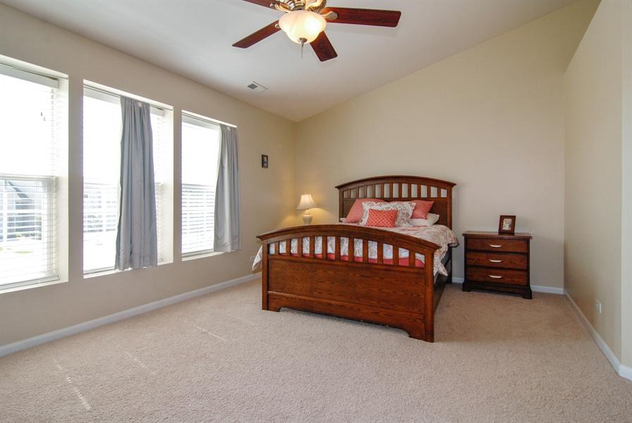 Real Estate Photography - 24831 Gates Court, Unit 24831, Plainfield, IL, 60585 - Master Bedroom