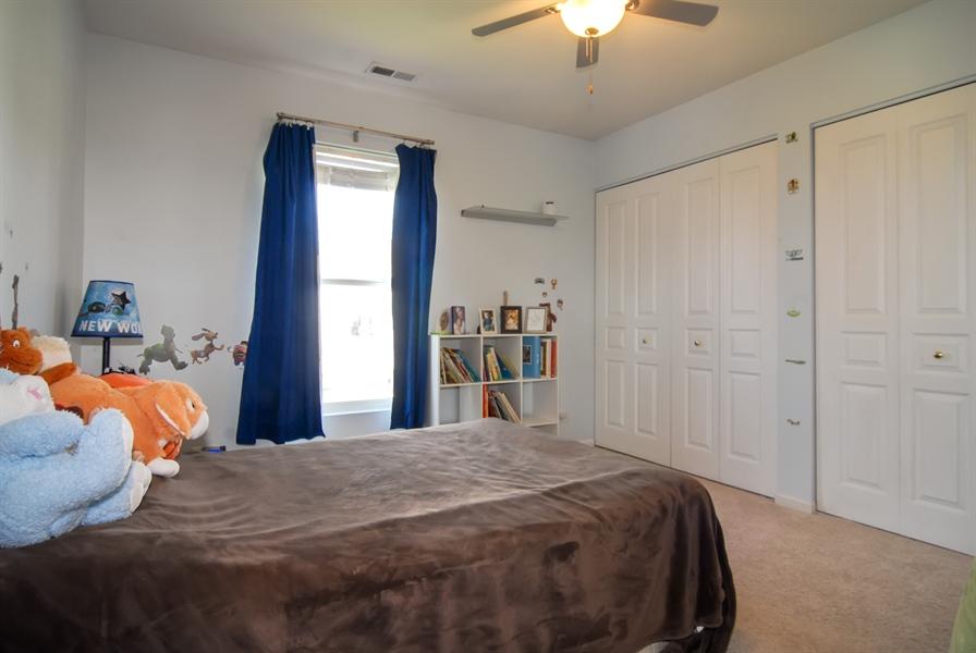 Real Estate Photography - 24831 Gates Court, Unit 24831, Plainfield, IL, 60585 - 2nd Bedroom