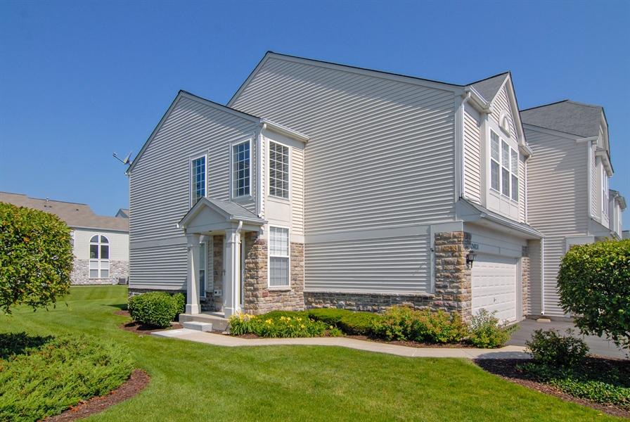 Real Estate Photography - 24831 Gates Court, Unit 24831, Plainfield, IL, 60585 - Front View