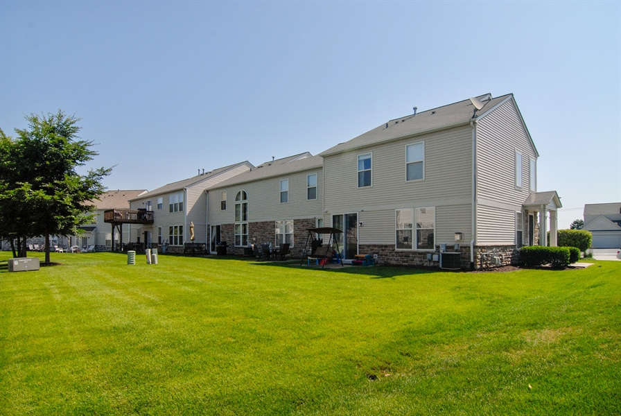 Real Estate Photography - 24831 Gates Court, Unit 24831, Plainfield, IL, 60585 - Rear View