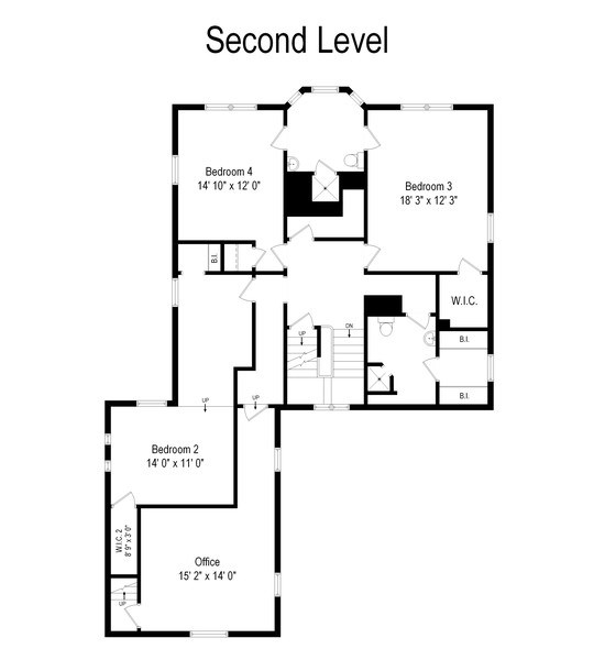 Real Estate Photography - 7463 N. Sheridan Road, Chicago, IL, 60626 - Floor Plan