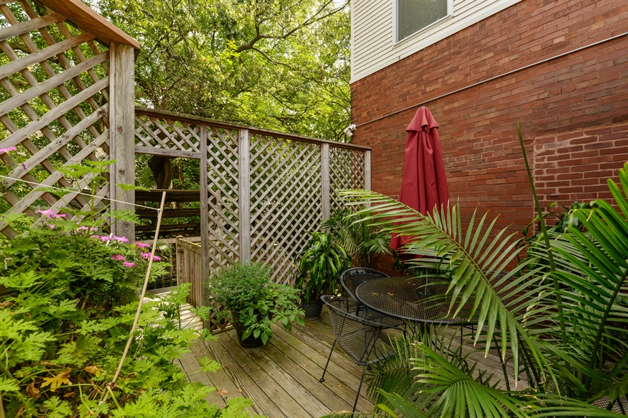 Real Estate Photography - 7463 N. Sheridan Road, Chicago, IL, 60626 - Deck