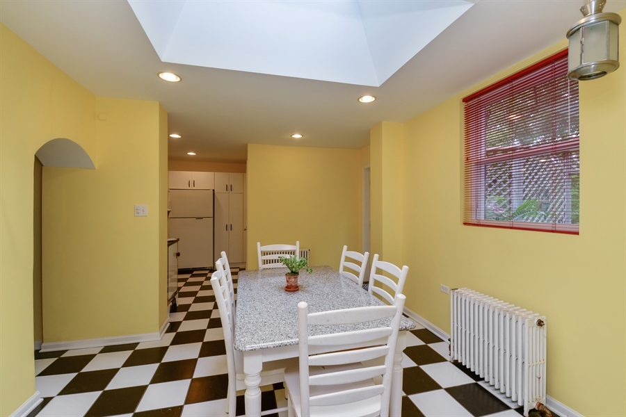 Real Estate Photography - 7463 N. Sheridan Road, Chicago, IL, 60626 - Kitchen / Dining Room