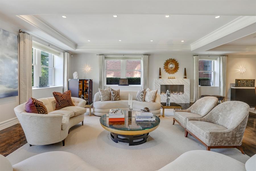 Real Estate Photography - 189 E. Lake Shore Drive, Unit 2E, Chicago, IL, 60611 - Living Room