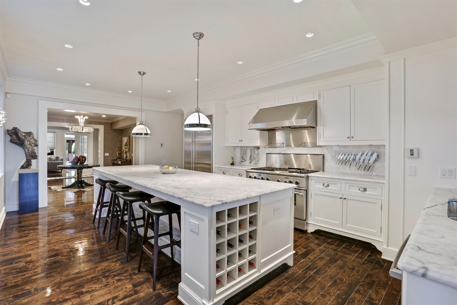 Real Estate Photography - 189 E. Lake Shore Drive, Unit 2E, Chicago, IL, 60611 - Kitchen