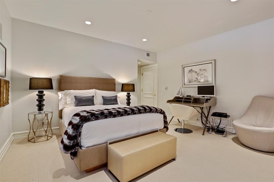 Real Estate Photography - 189 E. Lake Shore Drive, Unit 2E, Chicago, IL, 60611 - Bedroom