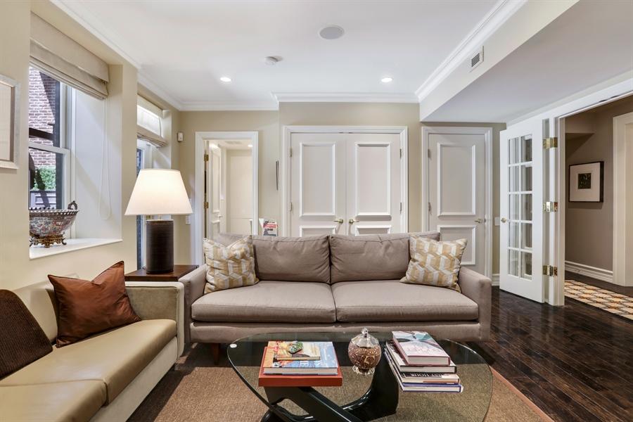 Real Estate Photography - 189 E. Lake Shore Drive, Unit 2E, Chicago, IL, 60611 - Family Room