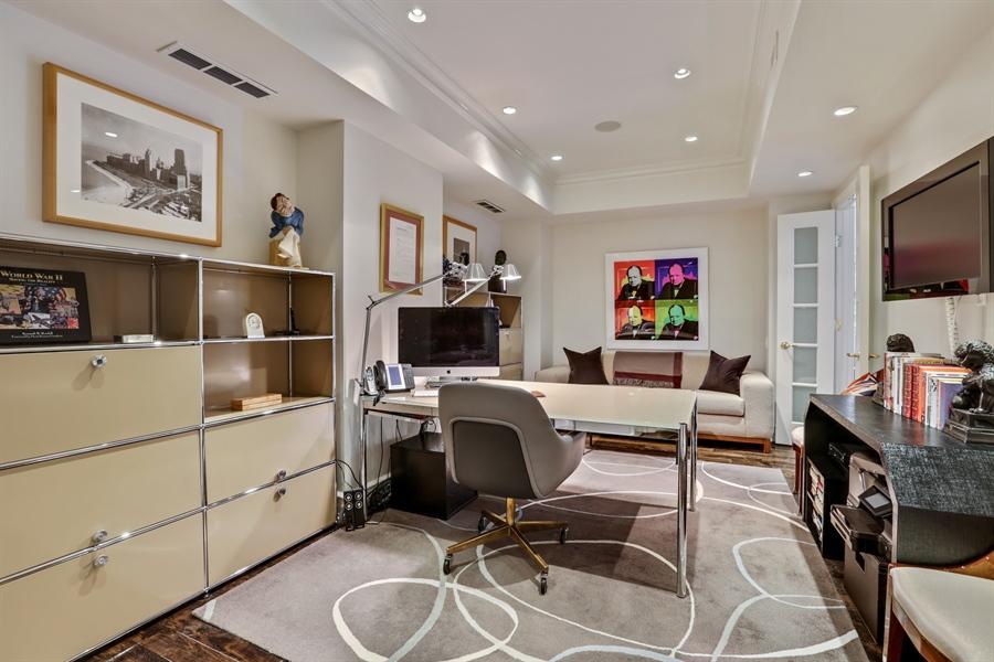 Real Estate Photography - 189 E. Lake Shore Drive, Unit 2E, Chicago, IL, 60611 - Office