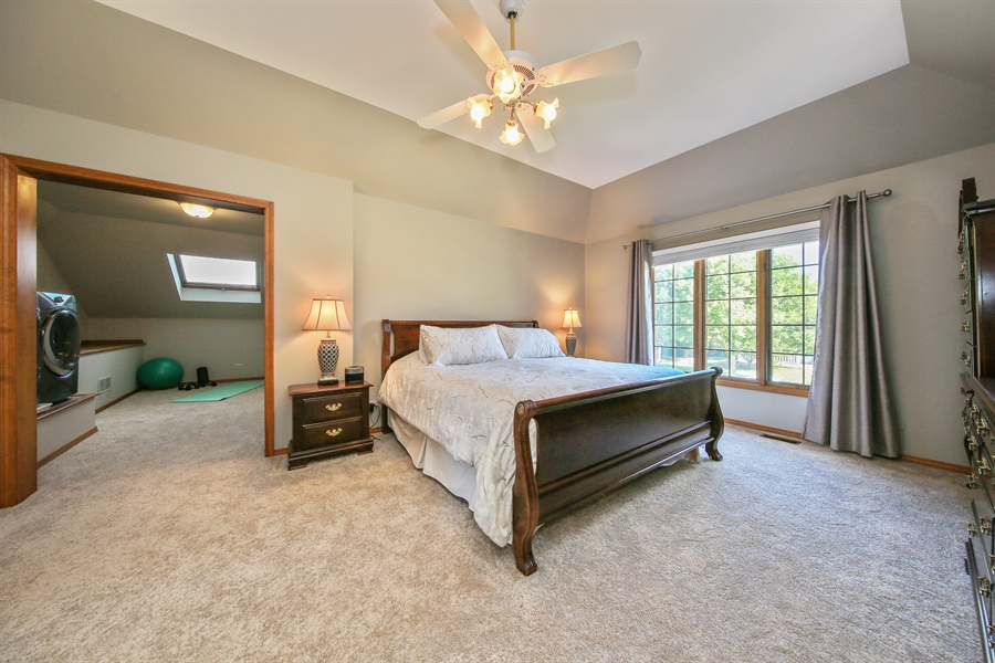 Real Estate Photography - 828 Cardiff Road, Naperville, IL, 60565 - Master Bedroom