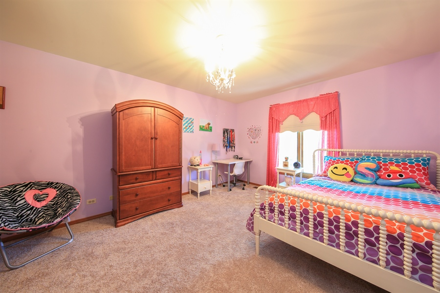 Real Estate Photography - 828 Cardiff Road, Naperville, IL, 60565 - 2nd Bedroom