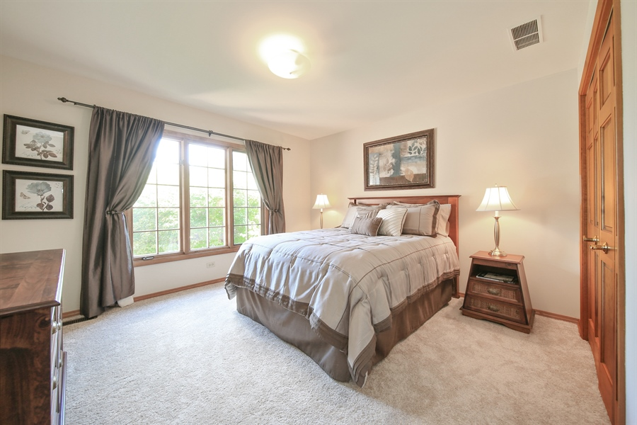 Real Estate Photography - 828 Cardiff Road, Naperville, IL, 60565 - 3rd Bedroom