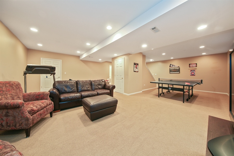 Real Estate Photography - 828 Cardiff Road, Naperville, IL, 60565 - Lower Level