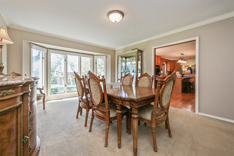 Real Estate Photography - 828 Cardiff Road, Naperville, IL, 60565 - Dining Room