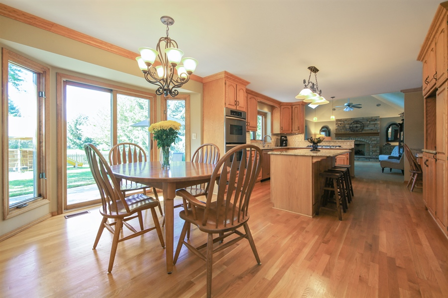 Real Estate Photography - 828 Cardiff Road, Naperville, IL, 60565 - Breakfast Area