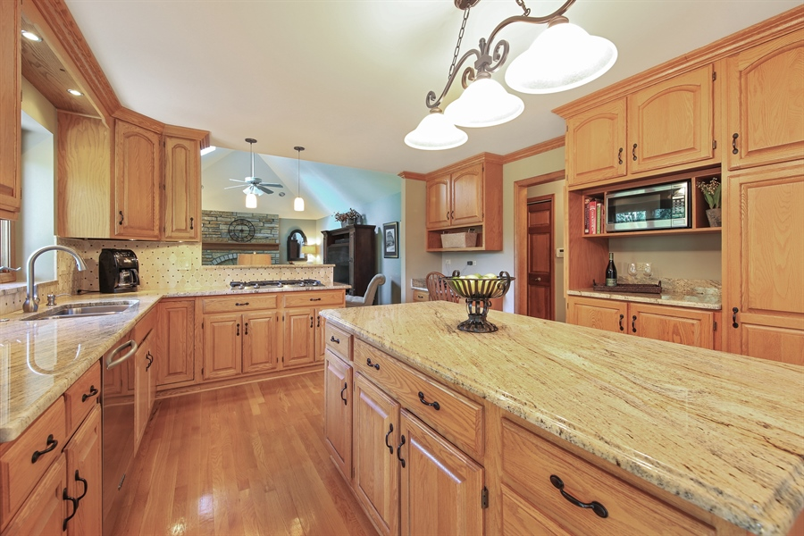 Real Estate Photography - 828 Cardiff Road, Naperville, IL, 60565 - Kitchen