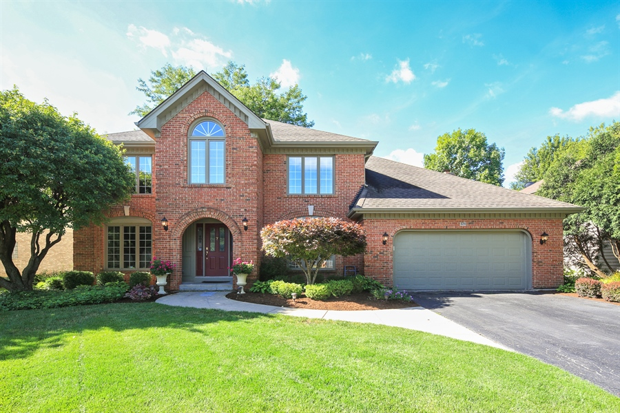 Real Estate Photography - 828 Cardiff Road, Naperville, IL, 60565 - Front View