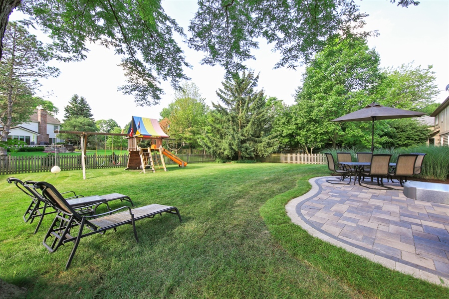 Real Estate Photography - 828 Cardiff Road, Naperville, IL, 60565 - Patio