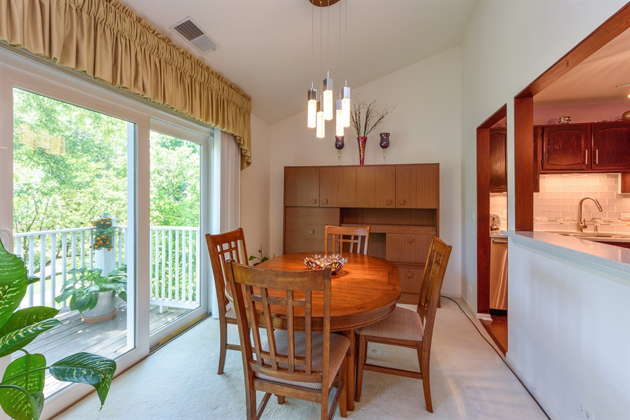 Real Estate Photography - 709 NEWGATE Lane, Unit C, Prospect Heights, IL, 60070 - Dining Room