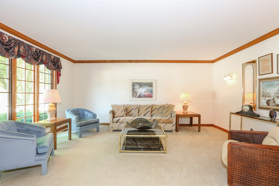 Real Estate Photography - 812 Burgess Hill Road, Naperville, IL, 60565 - Living Room