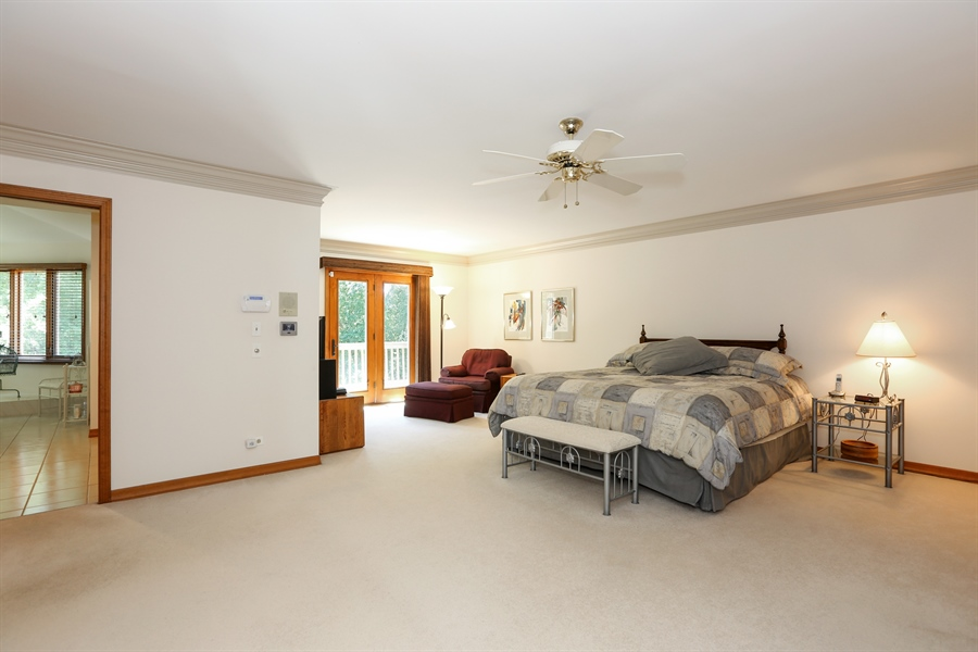 Real Estate Photography - 812 Burgess Hill Road, Naperville, IL, 60565 - Master Bedroom