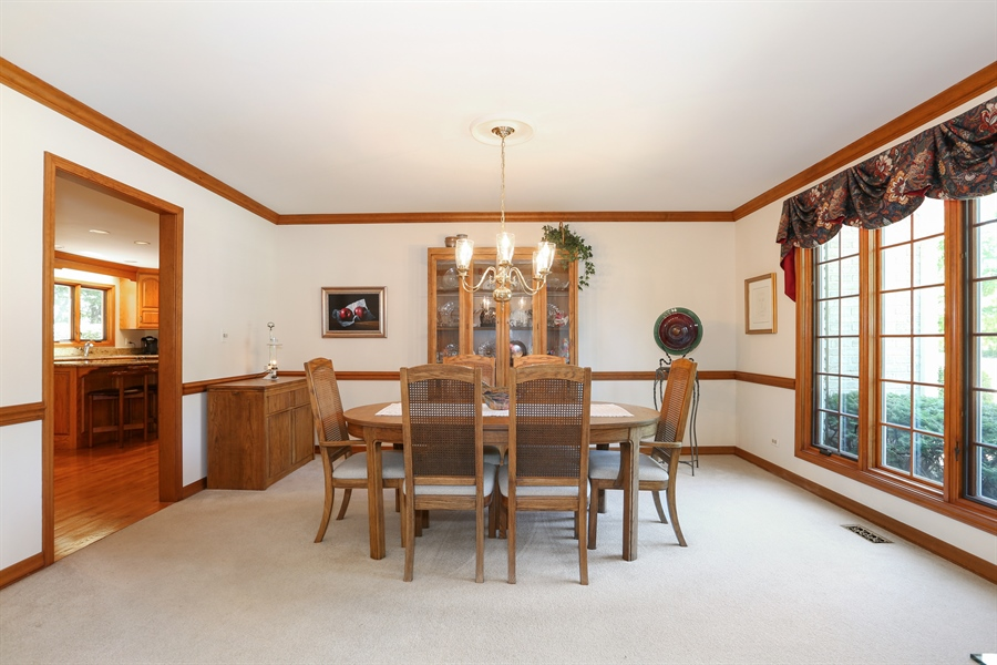 Real Estate Photography - 812 Burgess Hill Road, Naperville, IL, 60565 - Dining Room