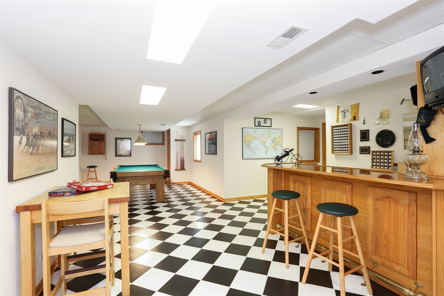 Real Estate Photography - 812 Burgess Hill Road, Naperville, IL, 60565 - Basement