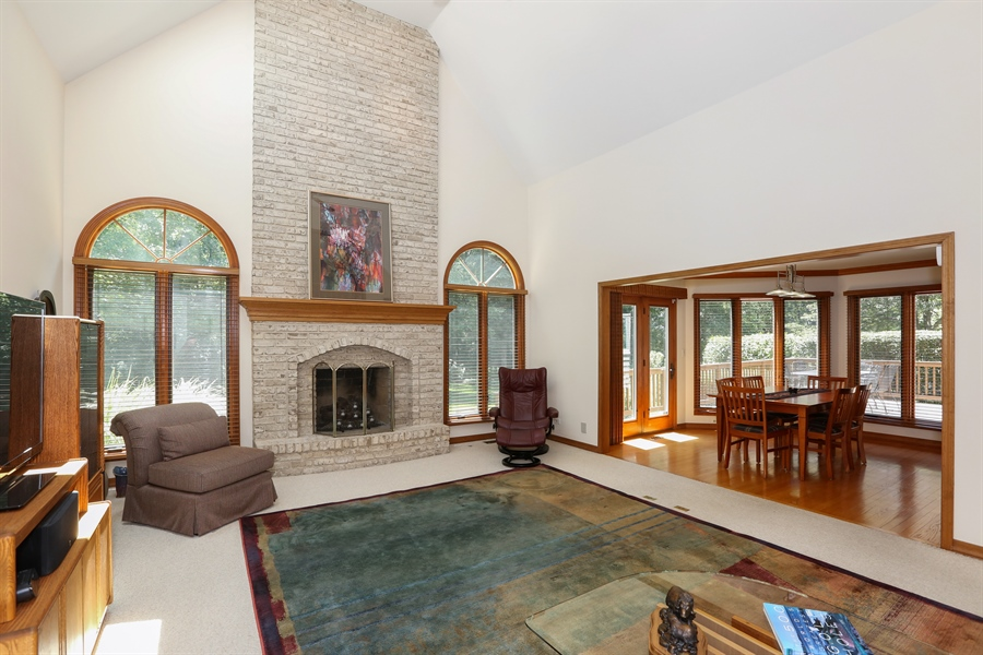 Real Estate Photography - 812 Burgess Hill Road, Naperville, IL, 60565 - Family Room
