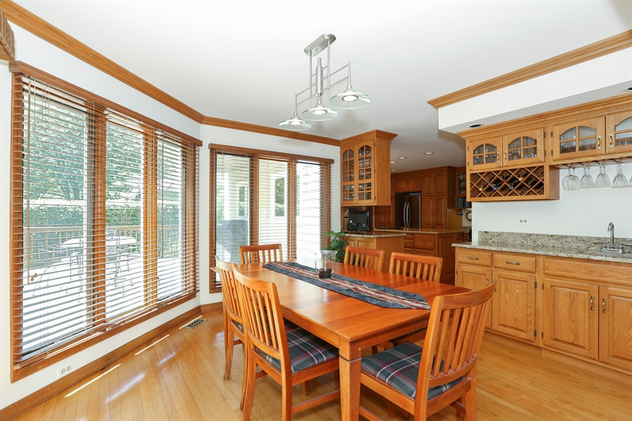 Real Estate Photography - 812 Burgess Hill Road, Naperville, IL, 60565 - Breakfast Area