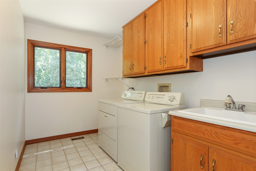 Real Estate Photography - 812 Burgess Hill Road, Naperville, IL, 60565 - Laundry Room
