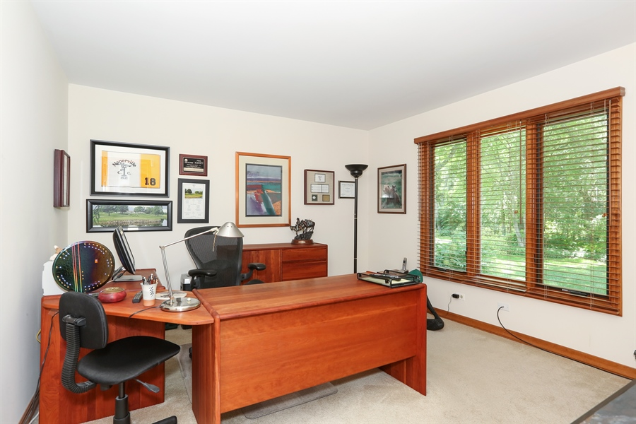 Real Estate Photography - 812 Burgess Hill Road, Naperville, IL, 60565 - Office