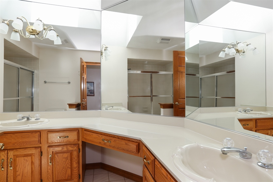 Real Estate Photography - 812 Burgess Hill Road, Naperville, IL, 60565 - Bathroom