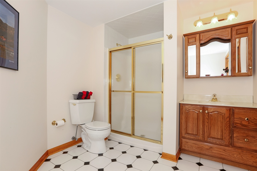 Real Estate Photography - 812 Burgess Hill Road, Naperville, IL, 60565 - Basement Bathroom