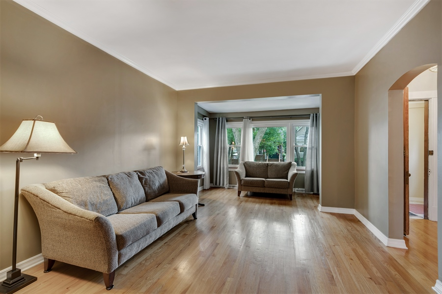 Real Estate Photography - 4149 North St Louis Ave, Chicago, IL, 60618 - Living Room