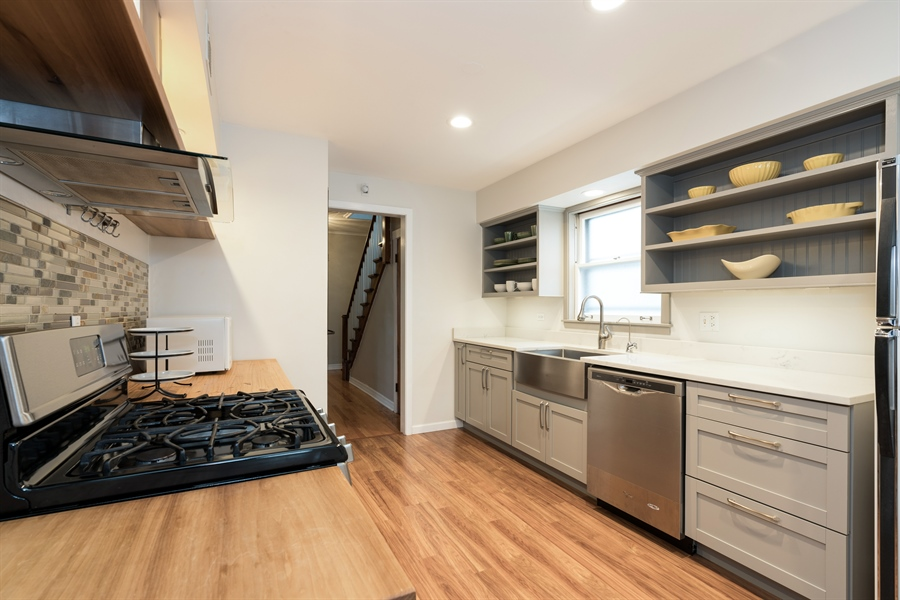 Real Estate Photography - 4149 North St Louis Ave, Chicago, IL, 60618 - Kitchen