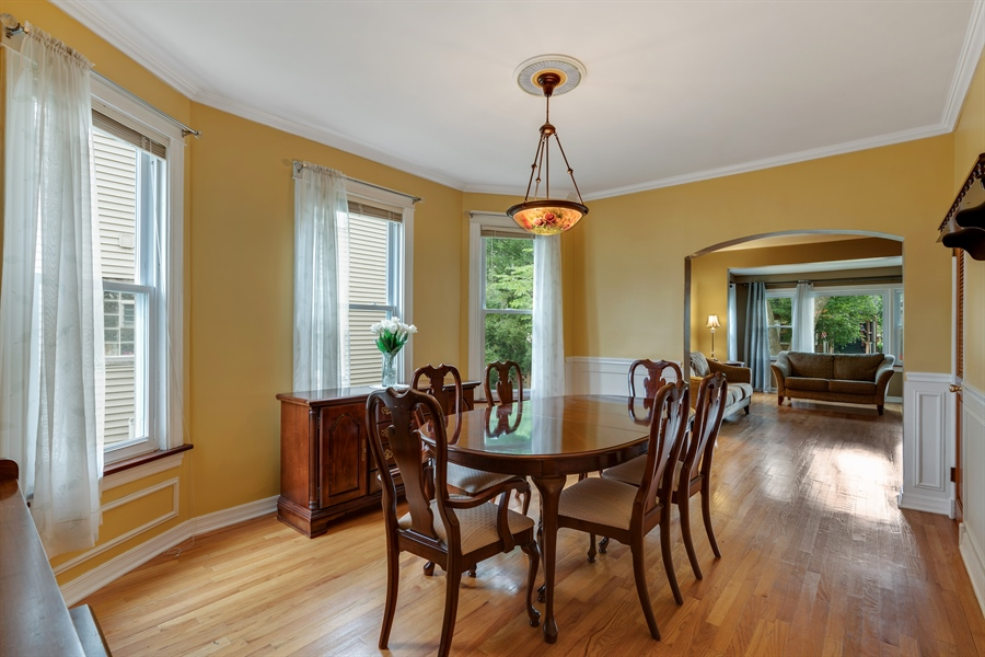 Real Estate Photography - 4149 North St Louis Ave, Chicago, IL, 60618 - Dining Room