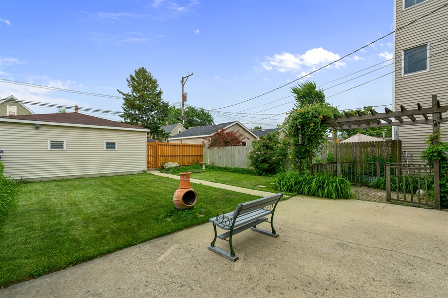 Real Estate Photography - 4149 North St Louis Ave, Chicago, IL, 60618 - Back Yard