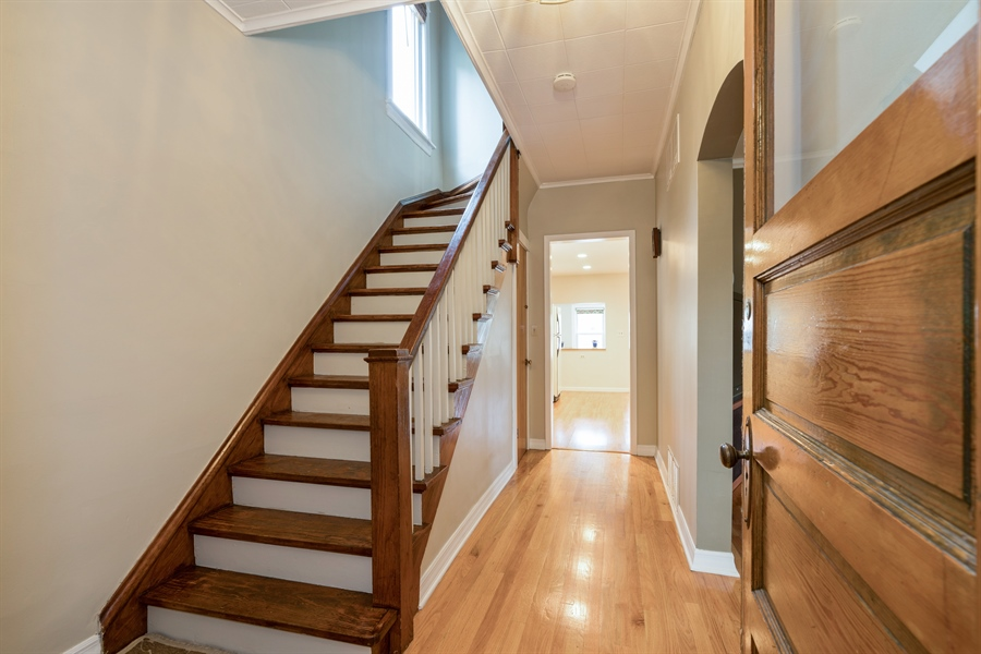 Real Estate Photography - 4149 North St Louis Ave, Chicago, IL, 60618 - Foyer