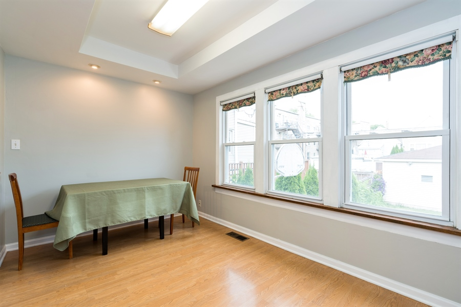 Real Estate Photography - 4149 North St Louis Ave, Chicago, IL, 60618 - Dining Area