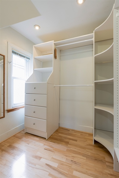 Real Estate Photography - 4149 North St Louis Ave, Chicago, IL, 60618 - Closet