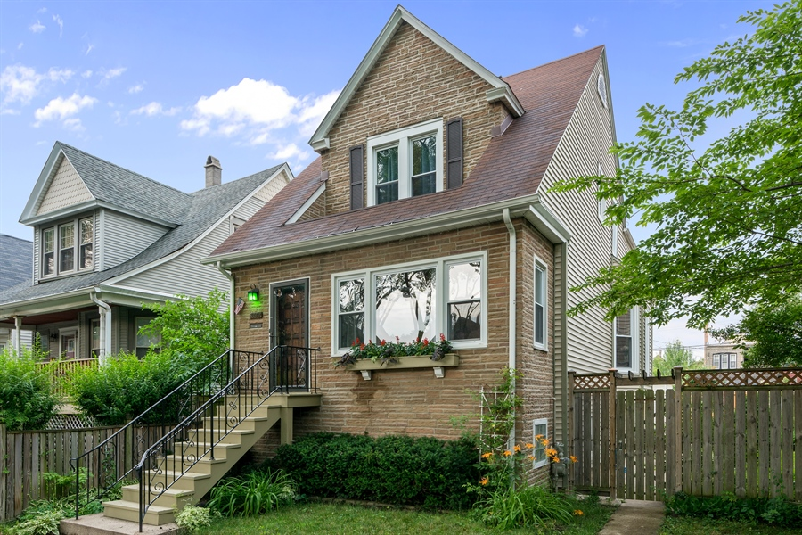 Real Estate Photography - 4149 North St Louis Ave, Chicago, IL, 60618 - Front View