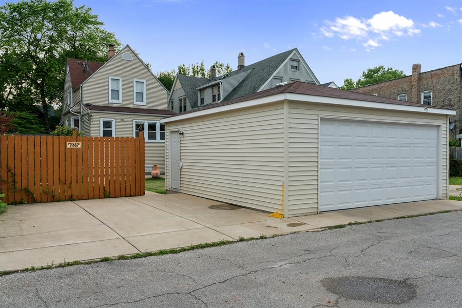 Real Estate Photography - 4149 North St Louis Ave, Chicago, IL, 60618 - Rear View
