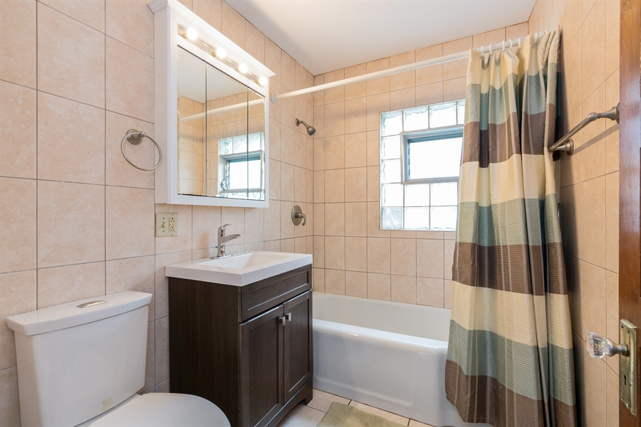 Real Estate Photography - 4149 North St Louis Ave, Chicago, IL, 60618 - Bathroom