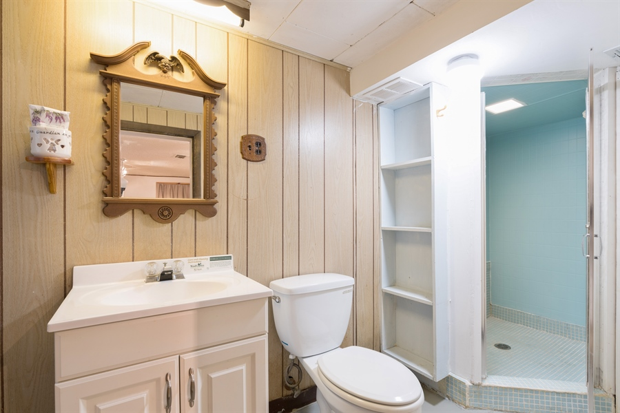 Real Estate Photography - 4149 North St Louis Ave, Chicago, IL, 60618 - 2nd Bathroom